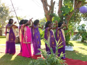 Traditional Malawian...saris?!