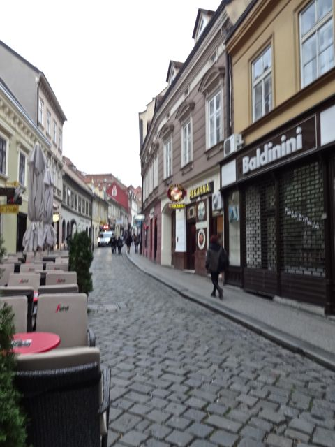 Loved these cobblestone streets!