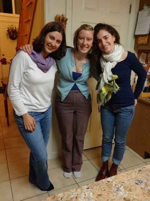 Natalie rocking the Ethiopian scarf :-)